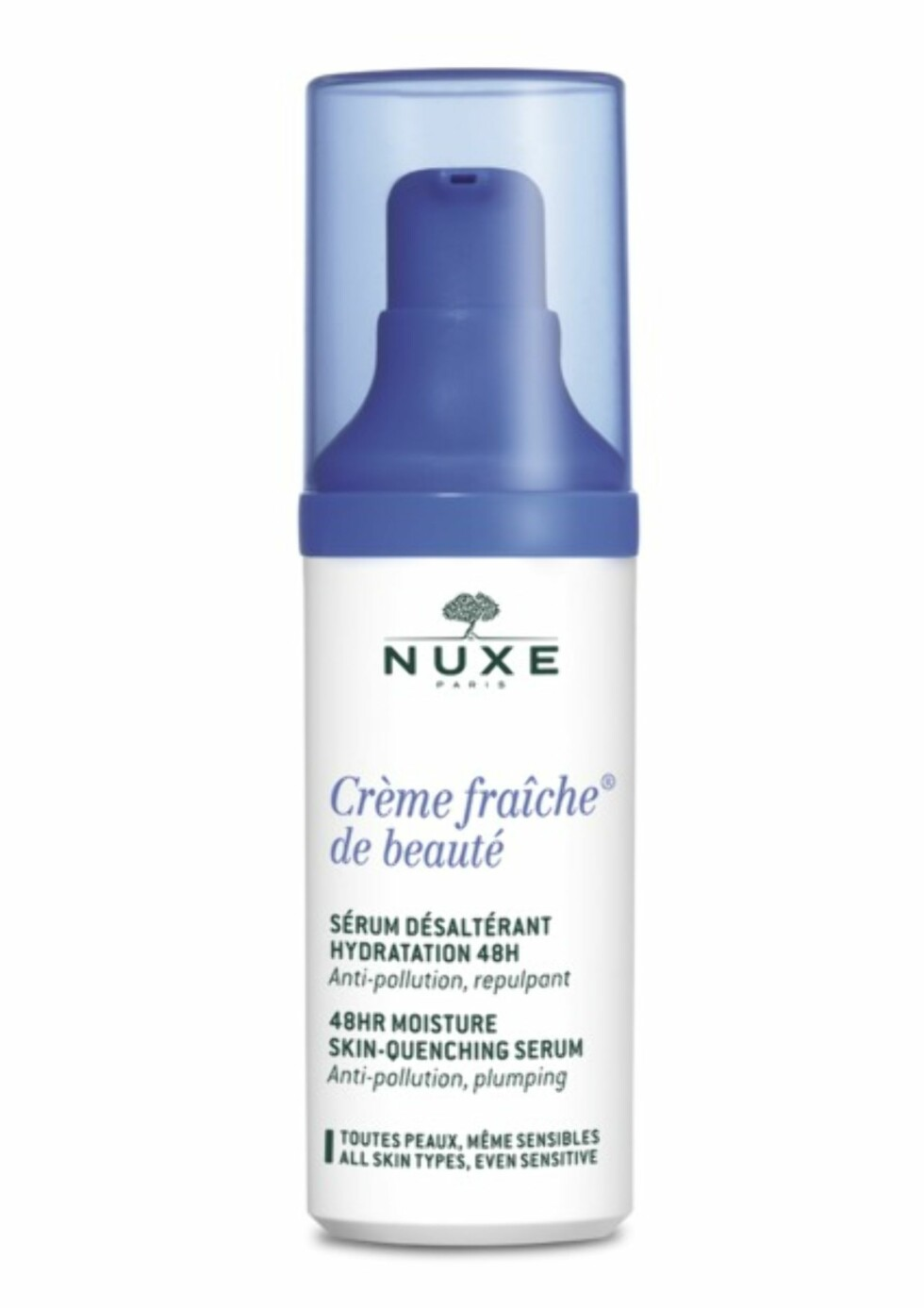 Serum fra | NUXE | https://www.apotek1.no/produkter/nuxe-cr-fraic-48-hyd-boost-ser-855953p?utm_source=KK.no&utm_medium=Advetorial&utm_campaign=Nuxe%20Creme%20Fraiche&utm_term=855953