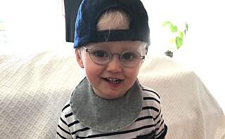 Viggo (2) er en av få som har albinisme