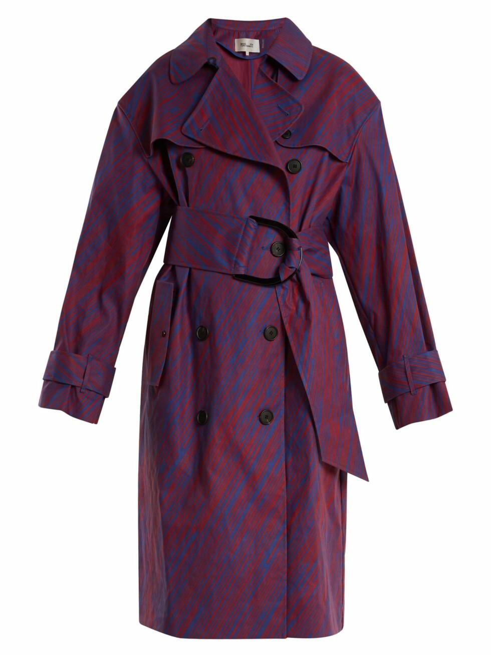 Trenchcoat fra Diane von Furstenberg |3100,-| https://www.matchesfashion.com/intl/products/Diane-Von-Furstenberg-Visconti-print-cotton-blend-trench-coat-1167448