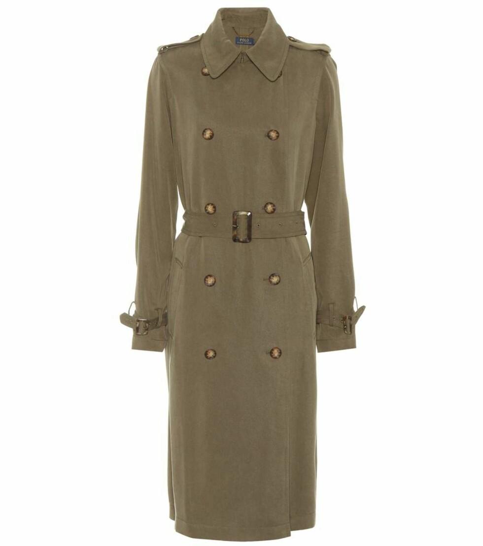 Trenchcoat fra Polo Ralph Lauren |4100,-| https://www.mytheresa.com/eu_en/polo-ralph-lauren-gabardine-trench-coat-948216.html