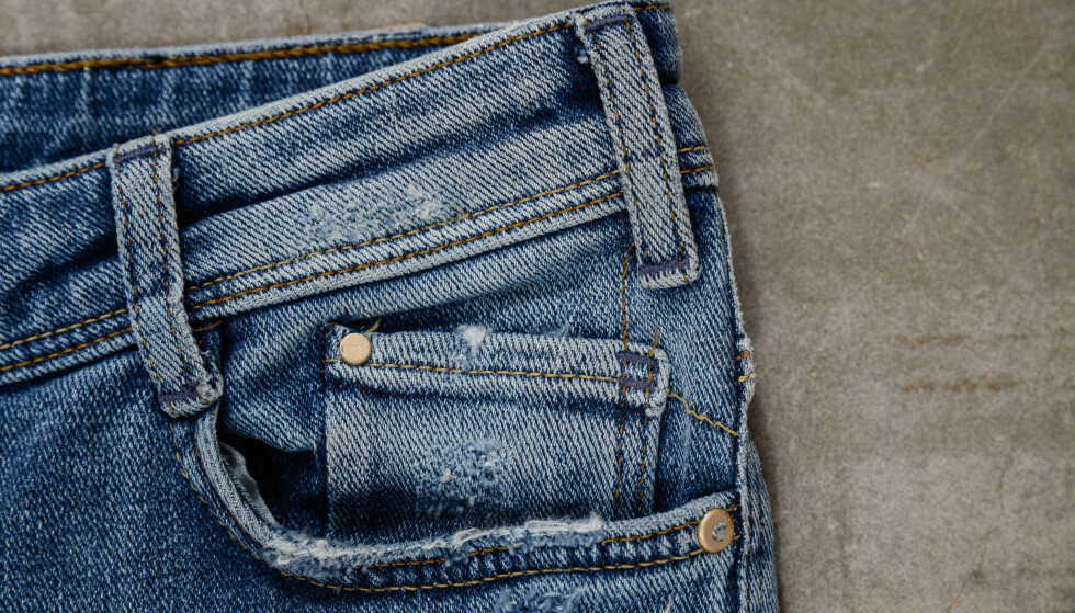 LOMME PÅ JEANS: Vet du hvorfor denne lille lommen befinner seg inne på selve lommen på jeansen din? FOTO: NTB Scanpix