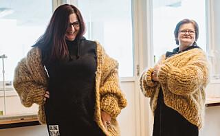 Disse damene sitter i fengsel og strikker designerjakker til 4500 kroner