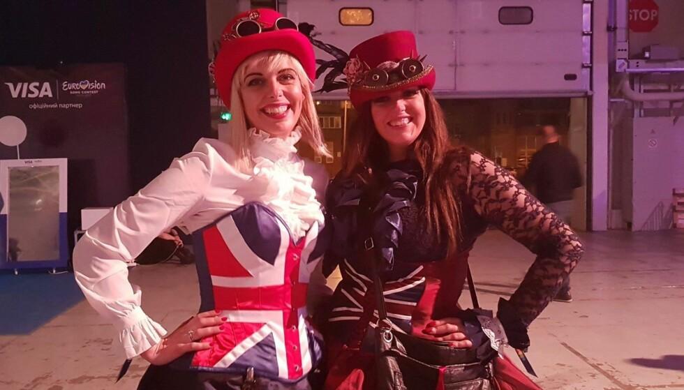 MELODI GRAND PRIX: Hvert eneste år siden 2013 har Inger Louise Molvær og familien reist verden rundt for å være en del av publikummet til Eurovision Song Contest. FOTO: Privat