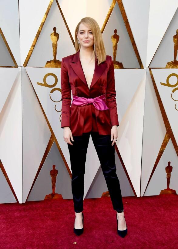 Emma Stone i Louis Vuitton Foto: Scanpix