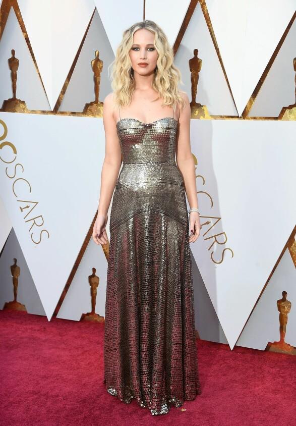 Jennifer Lawrence i Dior Foto: Scanpix