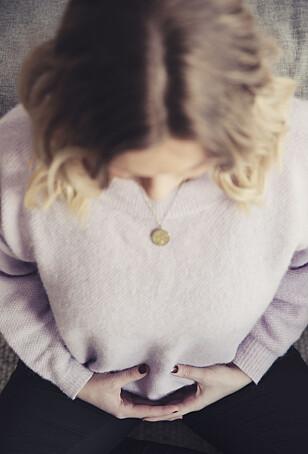 ØNSKER SEG FLERE: Kristel håper hun blir gravid igjen, men er redd hun vil være veldig engstelig i et nytt svangerskap. Foto: Yvonne Wilhelmsen