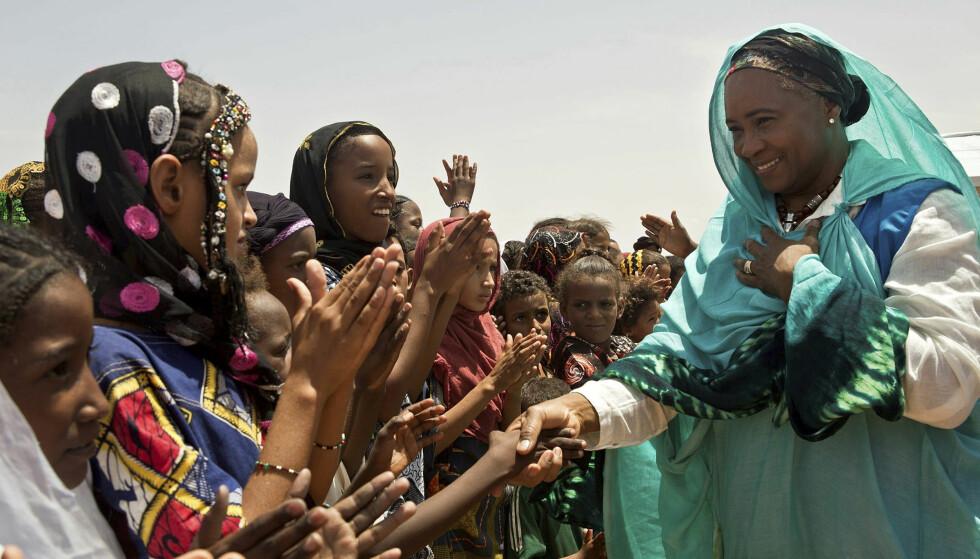 FN-AMBASSADØR: Som FN-ambassadør ser Barbara Hendrickis det som sin fremste oppgave å gi håp til de svake og utsatte.