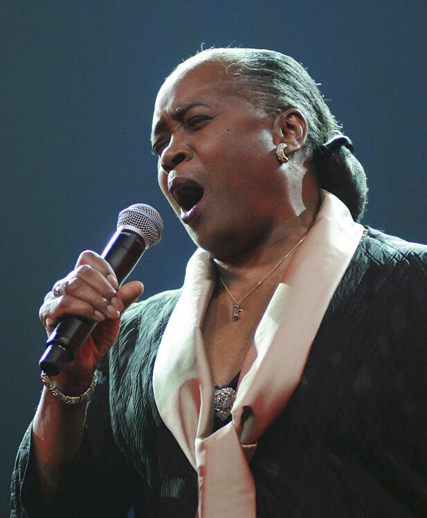 SANG: - Jeg ville elsket å kunne synge som Aretha Franklin.