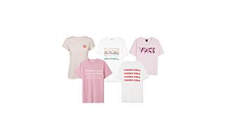 T-skjortene som støtter kvinnedagen