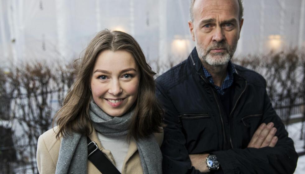 FIKK TROEN PÅ PROSJEKTET: Tilliten til regissør Erik Poppe var også viktig for Andrea. FOTO. NTB Scanpix