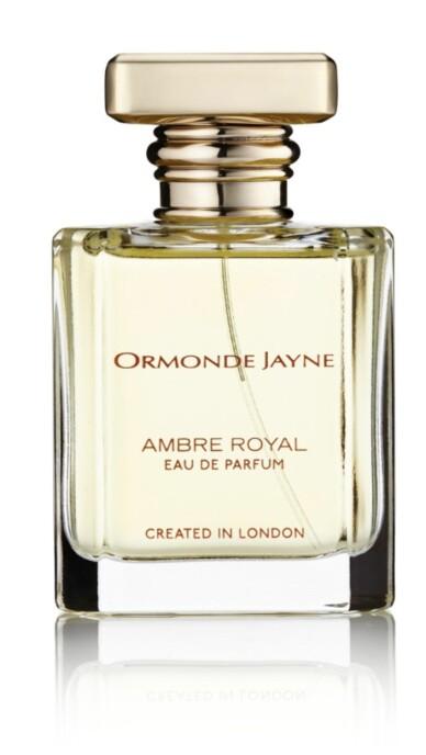 Ormonde Jayne: Hun finner alltid en sjelden blomst som alternativ til en klassiker, samt nye vrier på begreper. Ambre Royal: Hennes egen og veldig annerledes tolkning av hvordan amber skal dufte (kr 2400).
