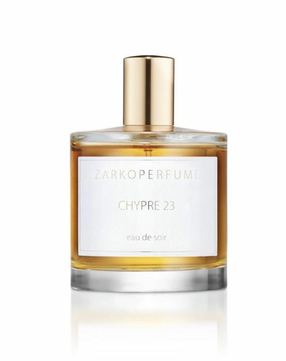 """Zarkoparfume: Kaller seg """"Slow Parfumery"""". Håndlagede parfymer som blant annet lagres på eikefat som en conjac. Chypre 23: Tilbake til opprinnelsen med duftblanding inspirert av Kypros (kr 1200)."""