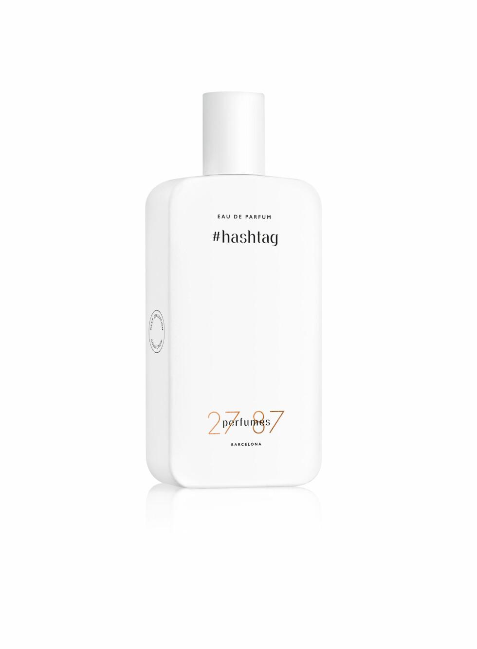 2787 Perfumes Barcelona: Laget for «millenials», eller de som føler seg unge til sinns! Skal fange dagens pulserende livsstil! #Hashtag: Duften av dagen digitale verden med aldehyde, fiolblader, harpiks, iris og musk.