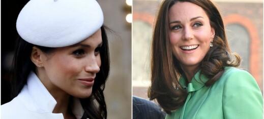 Mener dette brevet viser at dronningen liker Kate bedre enn Meghan