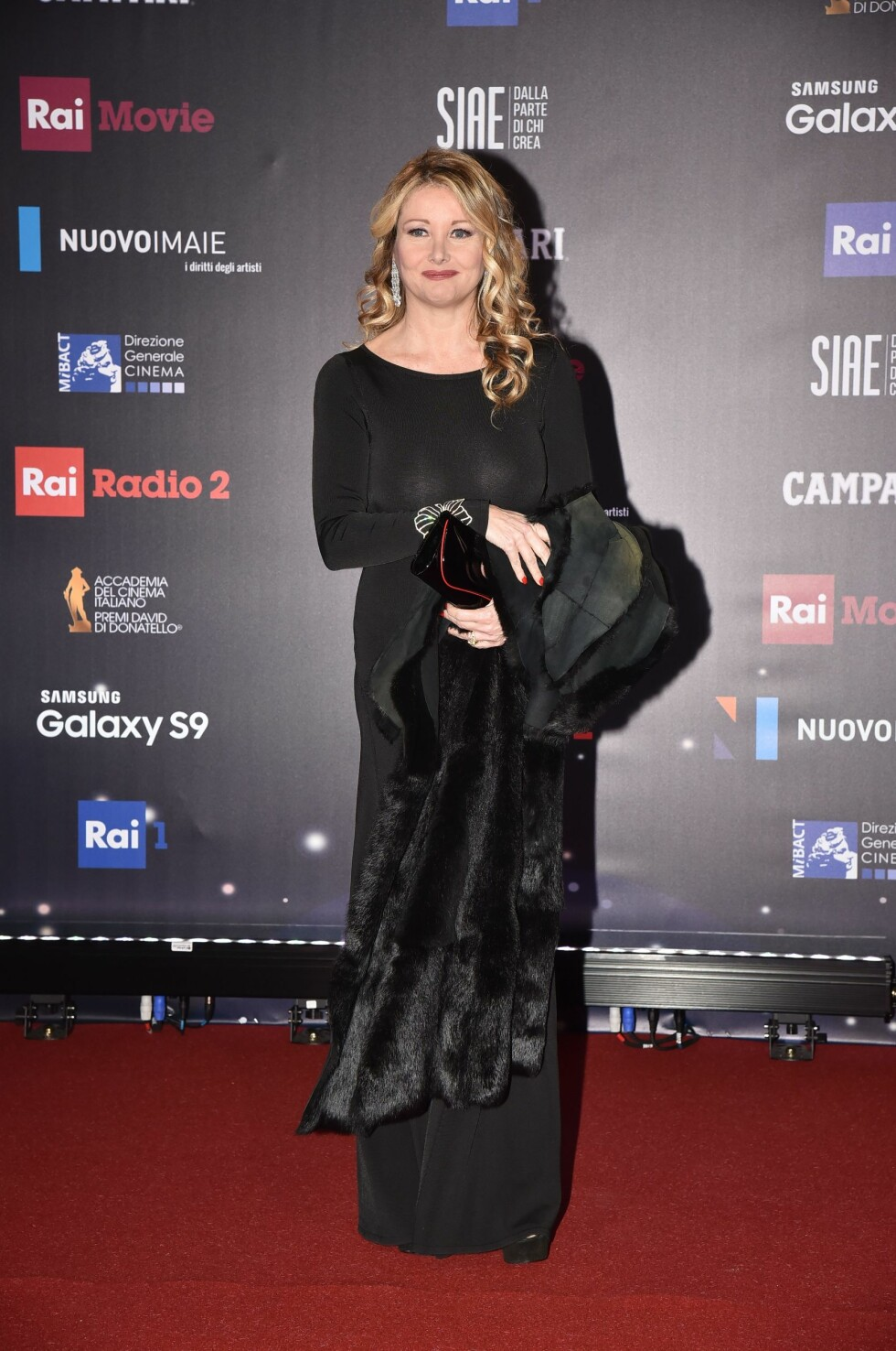 "David di Donatello Awards 2018 - Italy. Rome, Studies De Paolis Red Carpet The 62nd Edition of the ""David Di Donatello"" Awards, In the picture: Angela Melillo URN:35639365"