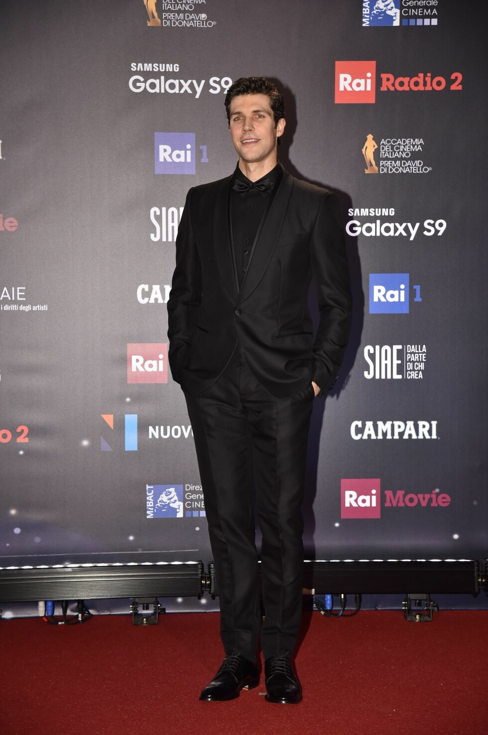 "David di Donatello Awards 2018 - Italy. Rome, Studies De Paolis Red Carpet The 62nd Edition of the ""David Di Donatello"" Awards, In the picture: Roberto Bolle URN:35639357"