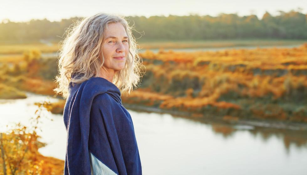 TID TIL SEG SELV: Mange opplever en fin tid der de reflekterer og har tid til seg selv, forteller Lotte Hvas. FOTO: NTB Scanpix