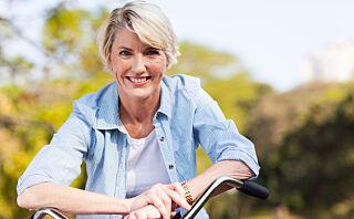 For mange er det godt nytt å komme i overgangsalderen