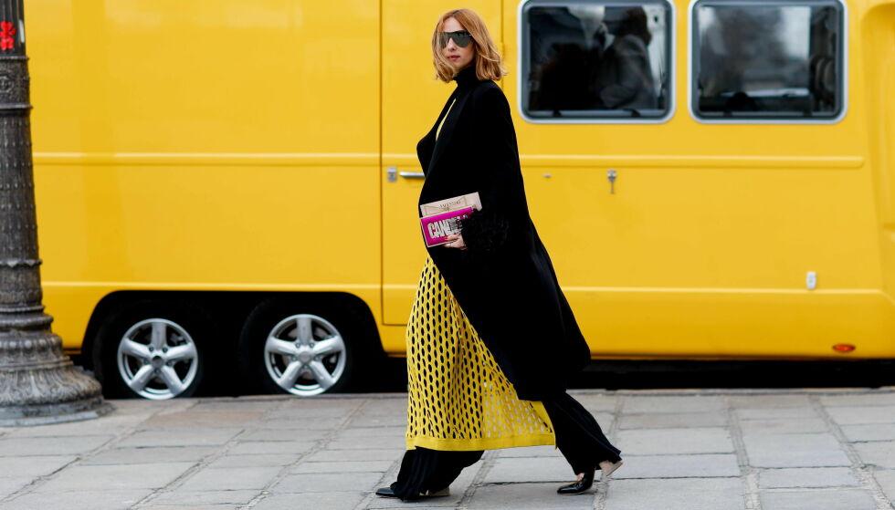 GÅ FOR GULT: Er det på tide å friske opp klesskapet med denne deilige fargen? FOTO: NTB Scanpix