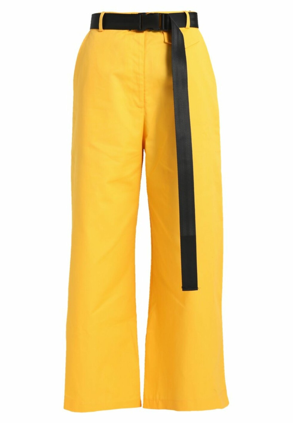 Bukse fra The Ragges Priest |499,-| https://www.zalando.no/the-ragged-priest-volume-pants-bukser-yellow-thj21a009-e11.html