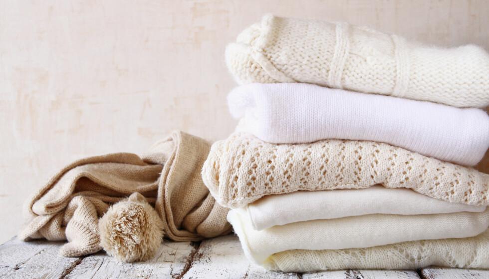 VISSTE DU... At du når du håndvasker ull, er det ikke alltid like lett å få ut alt vannet av plagget? Foto: Scanpix
