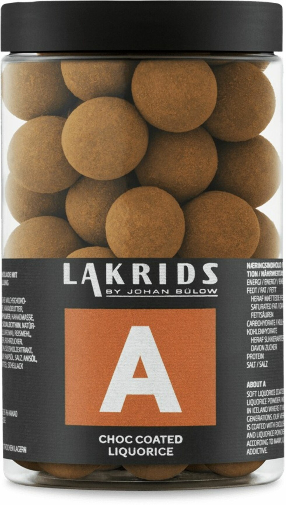 Lakris |175,-| https://no.lakrids.nu/collections/choc-coated-liquorice/A