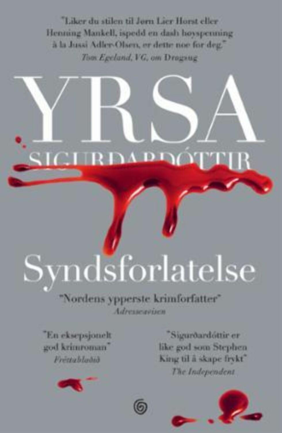 Syndsforlatelse av Yrsa Sigurdardottir |332,-| https://www.ark.no/boker/Yrsa-Sigurdardottir-Syndsforlatelse-9788248921356