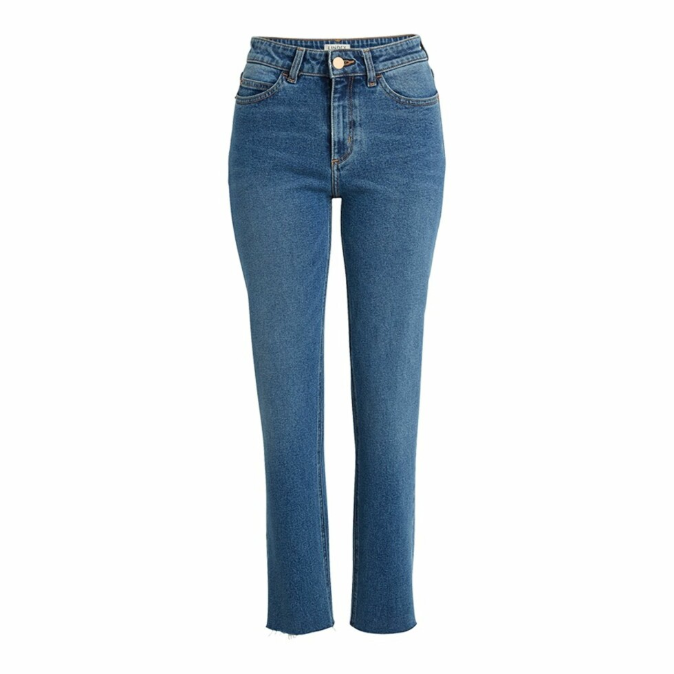 Jeans fra Lindex |399,-| https://www.lindex.com/no/dame/underdeler/jeans/nea-the-straight-high-waist/7670633/NEA-Straight-High-Ankle-Jeans/