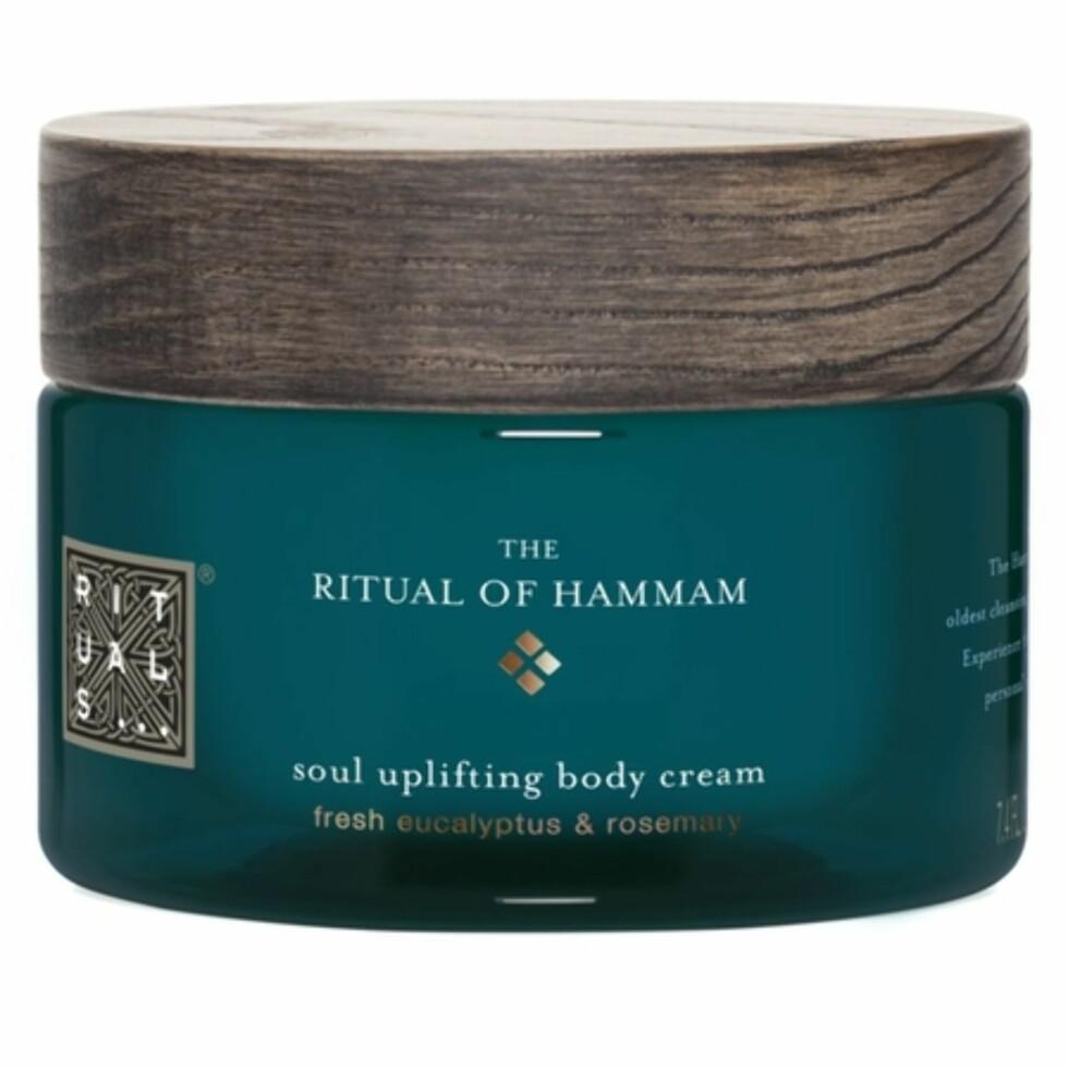 Body cream fra Rituals |195,-| https://www.rituals.com/no-no/the-ritual-of-hammam-body-cream-5467.html#start=1