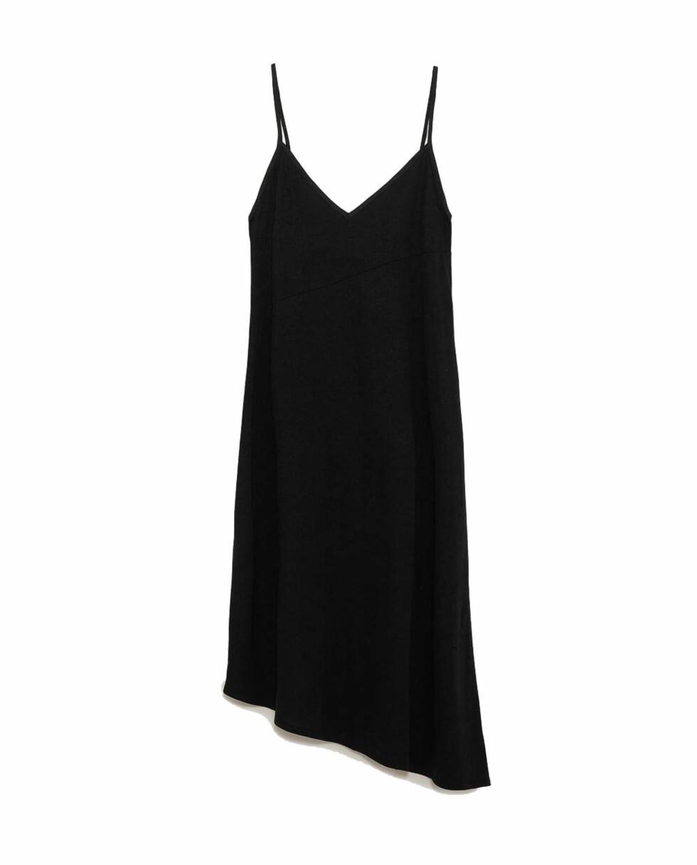 Kjole fra Zara |249,-| https://www.zara.com/no/no/asymmetrisk-kjole-med-stropper-p07568043.html?v1=6022037&v2=943001