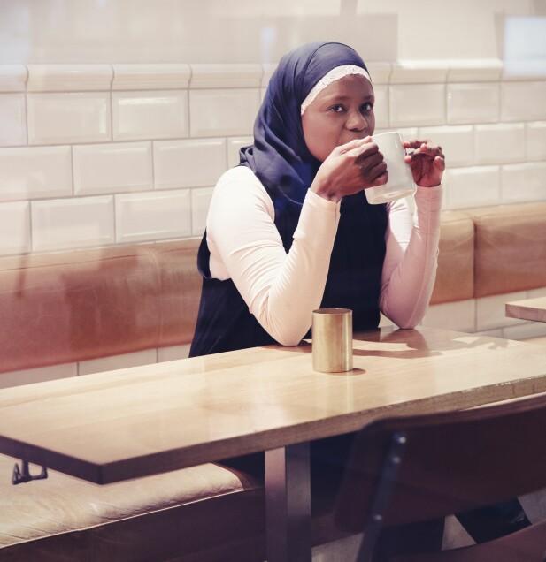 Å HA ET FUNKSJONSHEMMET BARN: Faridah Shakoor Nabaggala har kjent på kroppen hvordan det er å få et funksjonshemmet barn. Det vil hun at flere skal gjøre, og har derfor planer om å lage Abloom World, der folk kan gå gjennom en slags opplevelsespark og kjenne de ulike diagnosene på kroppen. FOTO: Yvonne Wilhelmsen