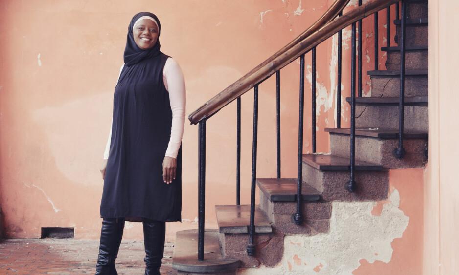 FARIDAH SHAKOOR NABAGGALA: – Å få et funksjonshemmet barn er ikke skam, sier Faridah Shakoor Nabaggala. Hun ser det som sin oppgave å spre kunnskap i miljøer der det er slike holdninger. FOTO: Yvonne Wilhelmsen