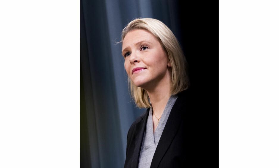 PÅSKEQUIZ: Hva tenkte Sylvi Listhaug egentlig da den omstridte Facebook-posten hennes ble publisert? Det er at av 10 spørsmål i denne aktuelle og alternative påskequizen. Foto: NTBScanpix