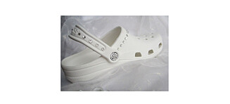 Nå kan du få bryllups-Crocs