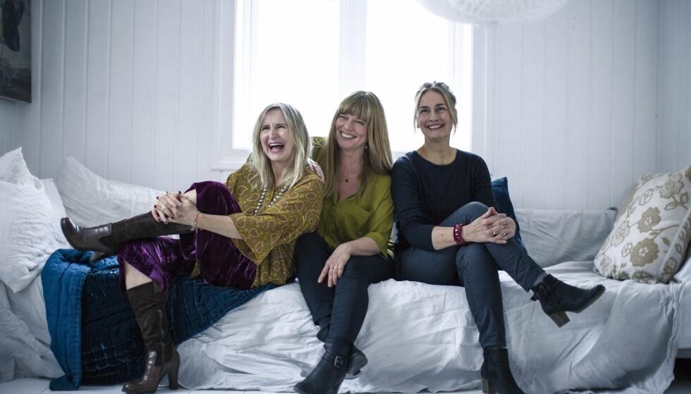 <strong>Å BLI ELDRE:</strong> Fra venstre: Bente Helesdatter Pettersen (60), Lena Kristiansen (50) og Petra Biesalski (59). FOTO: Astrid Waller