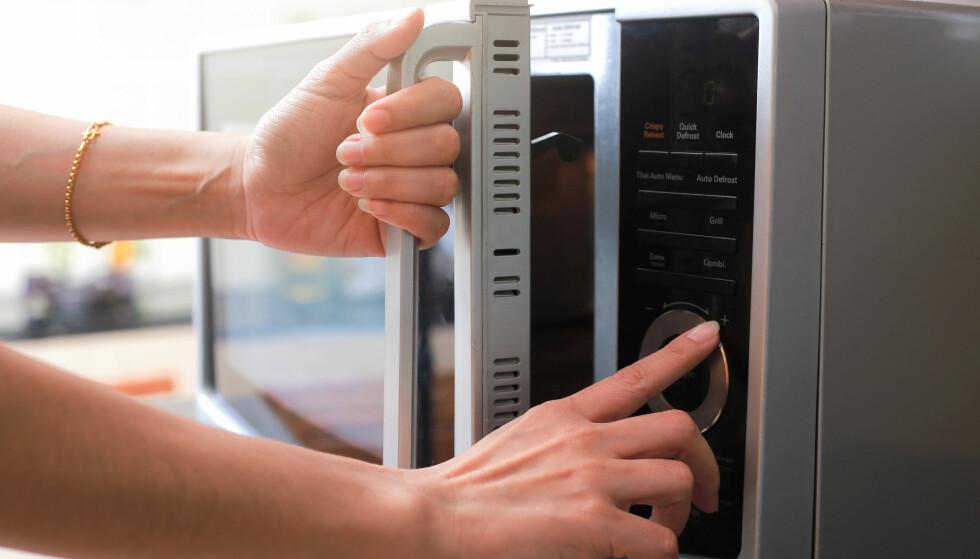 MIKROBØLGEOVN: Skal grønnsakene varmebehandles er det faktisk mikroen som er best. FOTO: NTB Scanpix