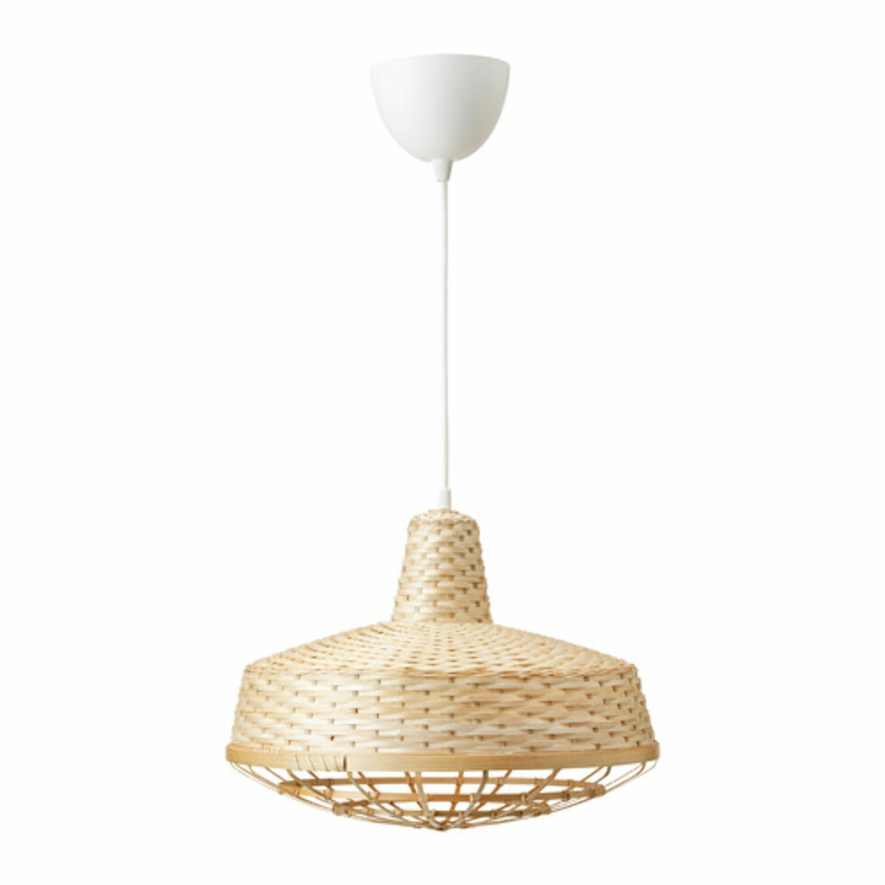 Lampe fra Ikea |249,-| https://www.ikea.com/no/no/catalog/products/80396200/