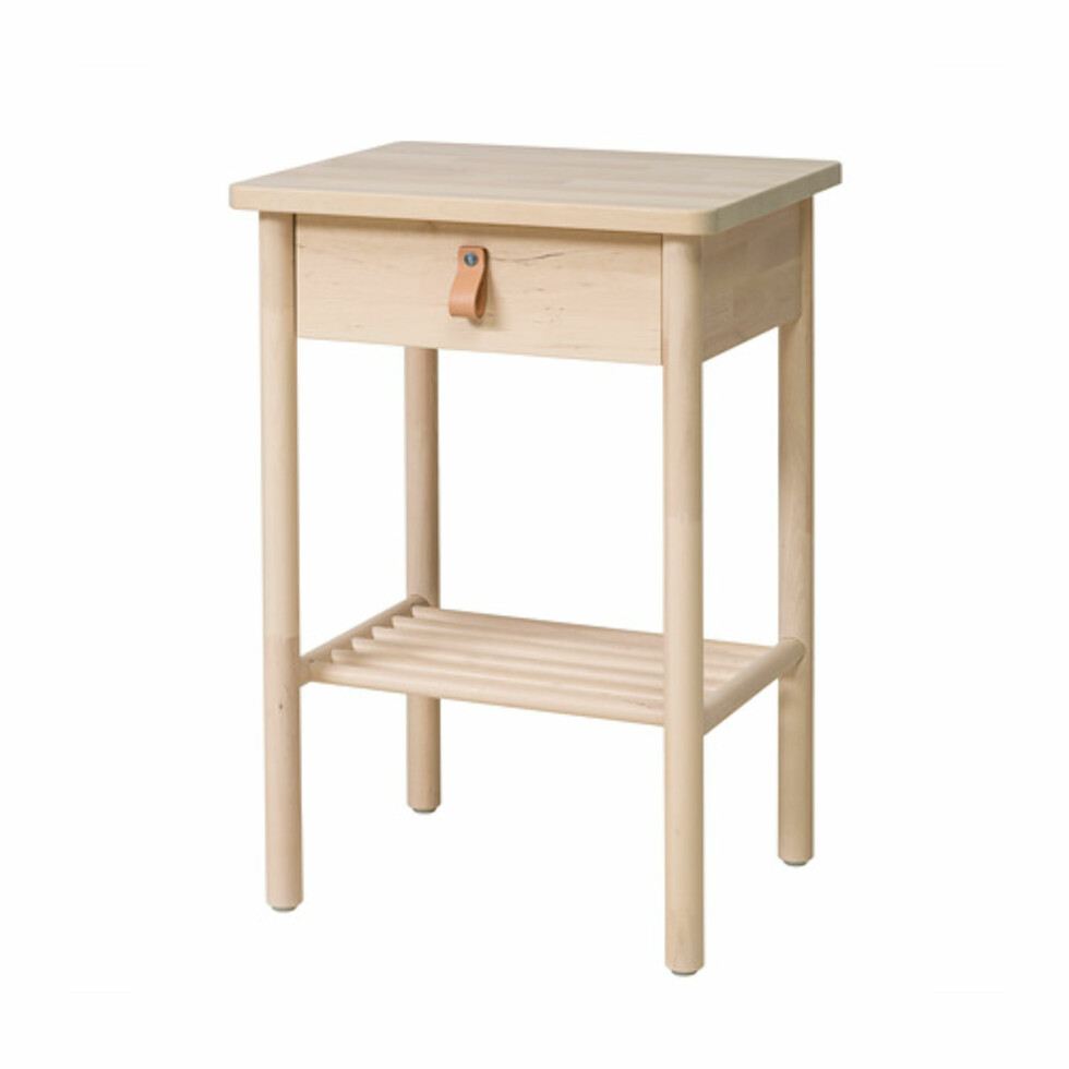 <strong>Nattbord fra Ikea  698,-  https:</strong>//www.ikea.com/no/no/catalog/products/70407360/