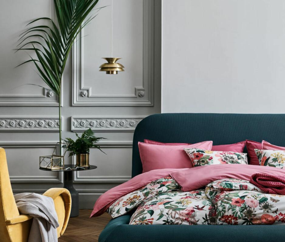 INTERIØRNYHETER: Akkurat nå vil vi friske opp hjemmet med deilige farger og grønne planter. FOTO: H&M