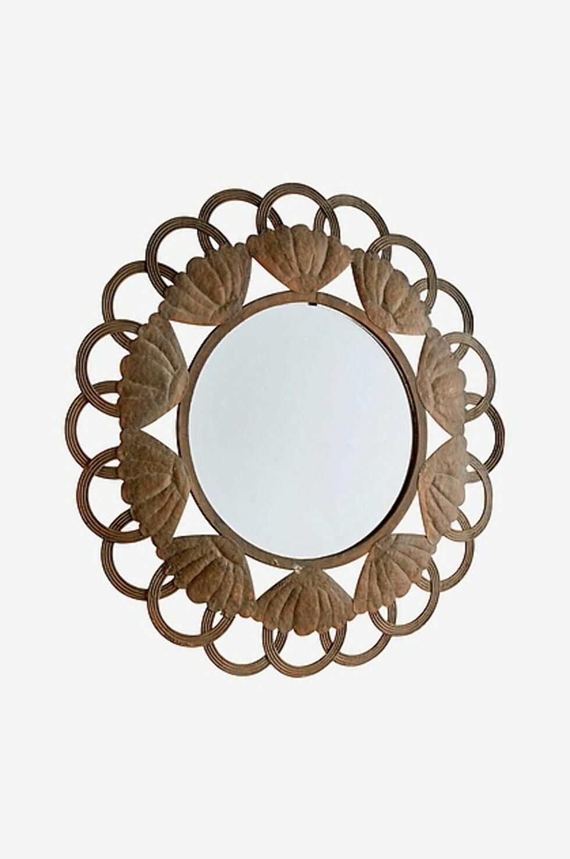 <strong>Speil fra Ellos  529,-  https:</strong>//www.ellos.no/ellos-home/speil-tanna-diameter-62-cm/1507862-01