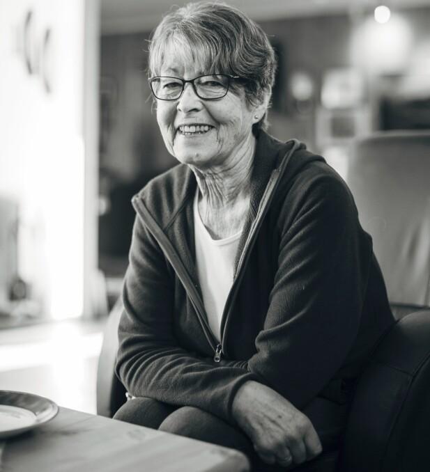 VAR IKKE UTE ETTER ET FORHOLD:- Jeg trivdes med   å være alene,   og var ikke ute etter   noe forhold, sier Borghild som lot seg forføre av Birger etterhvert. FOTO: Mona Moe Machava