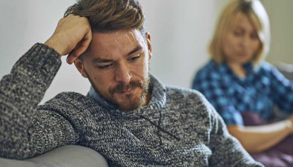 KONFLIKTSKY KJÆRESTE: Når en i forholdet trekker seg unna hver gang den andre vil ta opp et problem, kan det i seg selv skape konflikt. FOTO: NTB Scanpix