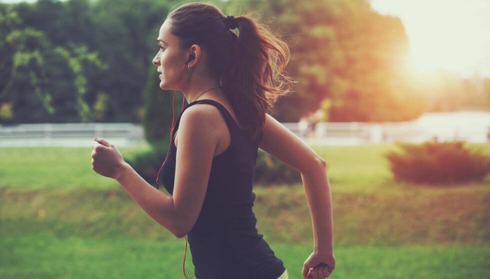 <strong>FOREBYGGENDE:</strong> Trening kan virke forebyggende mot migrene. FOTO: NTB Scanpix