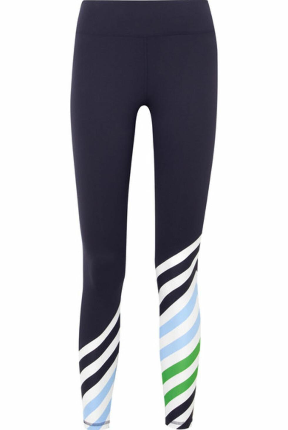 Tights fra Tory Sport via Net-a-porter.com |1600,-| https://www.net-a-porter.com/no/en/product/1021283/tory_sport/striped-stretch-tactel-leggings
