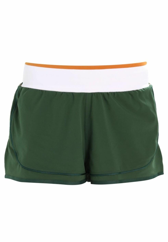 Shorts fra Stella McCartney via Zalando.no |699,-| https://www.zalando.no/adidas-by-stella-mccartney-train-hiit-sports-shorts-darkgreen-ad741e01t-m11.html