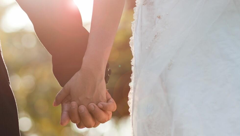 Bryllup på lavbudsjett: Cathrine og Mortens bryllup kostet bare 22 600 kroner