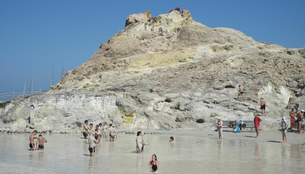 VULCANO: Vulcano anbefales som dagstur med hydrofoil fra Lipari eller Stromboli. FOTO: Hanna Gabel Christensen
