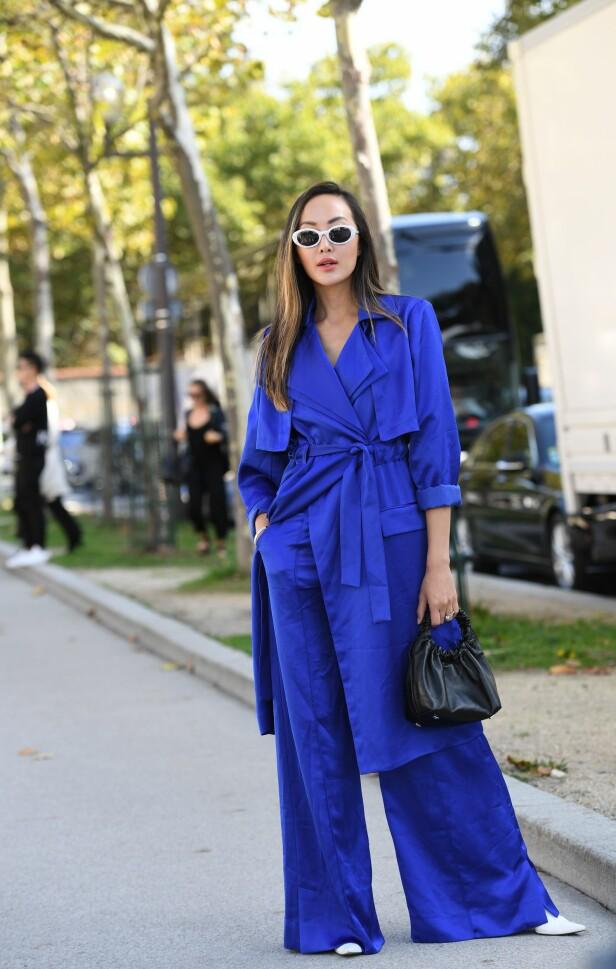 KOMFORTABEL OG KUL: Vide bukser og en lengre overdel: Så avslappet og kult! Foto: Scanpix