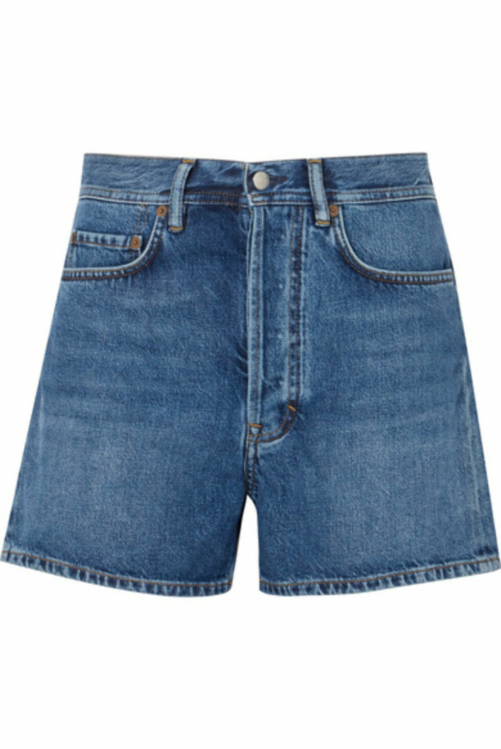 Shorts fra Acne Studios |2055,-| https://www.net-a-porter.com/no/en/product/1003869/Acne_Studios/swamp-denim-shorts