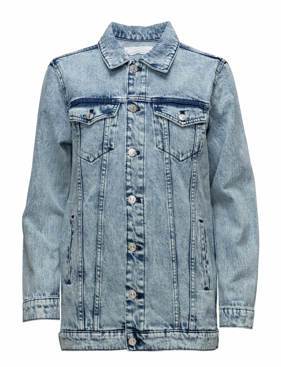 Jakke fra Mango |499,-| https://www.boozt.com/no/no/mango/medium-wash-denim-jacket_18006600/18006602?navId=67378&group=listing&position=1000000